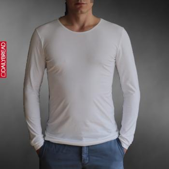 Daily Bread langarm- Shirt REGULAR, Rundhals
