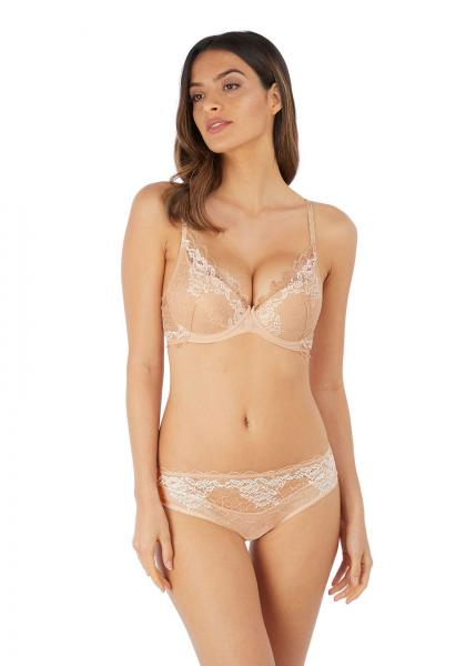 Lace Perfection Push Up BH Caffe